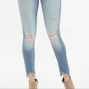Killing It High Waisted Distressed Jeans